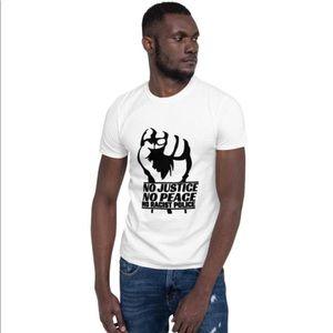 No Justice #NOPEACE Short Sleeve Unisex Shirt